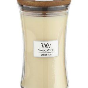 Woodwick Vanilla Bean Tuoksukynttilä 18 cm