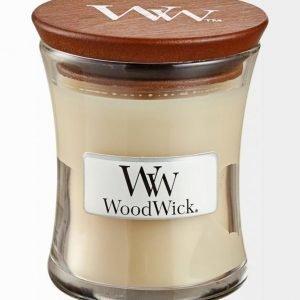 Woodwick Vanilla Bean Tuoksukynttilä 8 cm