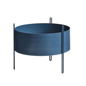 Woud Pidestall Kukkaruukku M Sininen