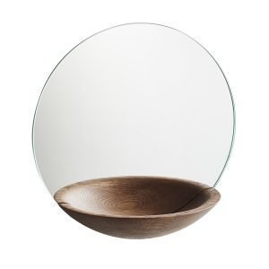 Woud Pocket Mirror Peili Iso Savustettu Tammi